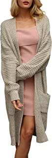 Simplee Women's Casual Open Front Long Sleeve Knit...