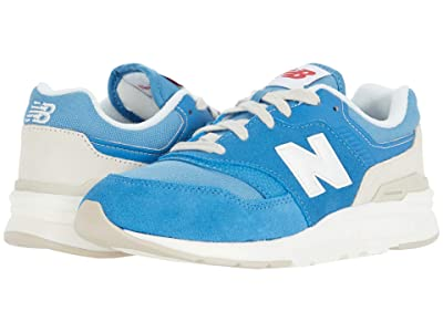 New Balance Kids 997H (Little Kid) (Mako Blue/Sea Salt) Boys Shoes