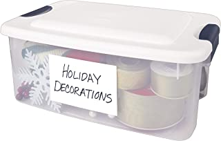 "AVERY  Removable Print or Write 4"" x 6"" Labels -- Great for Home Organization Projects, Pack of 40 White Labels (5454)"