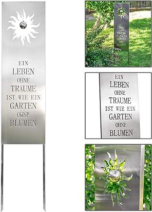 Suchergebnis auf Amazon.de für: edelstahl deko: Garten