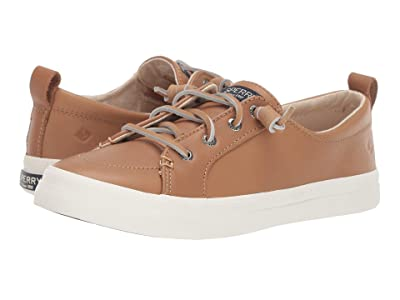 Sperry Crest Vibe Leather (Tan) Women