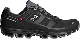 On-Running Mens Cloudventure Waterproof Black/Graphit Trail Runner - 10.5
