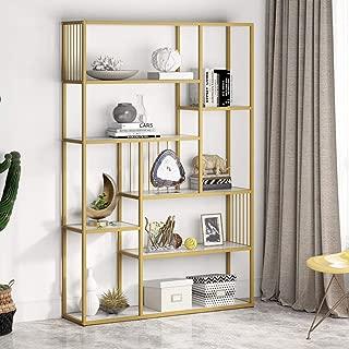 gold etagere bookshelf