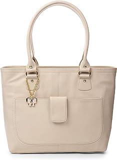 Butterflies Handbag For Women's & Girl's (Cream) (BNS 0532CRM)