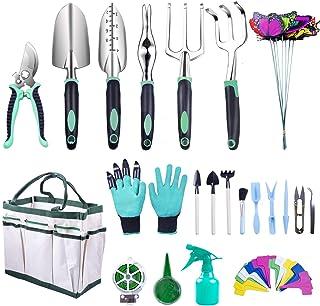 Kit Herramientas Jardineria, Juego Herramientas de JardínAcero Inoxidable Mini herramientas de mano de jardinería para bon...