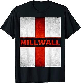 Millwall England English Flag Vintage