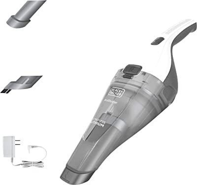 BLACK+DECKER dustbuster Handheld Vacuum, Cordless, White (Model HNVC220BCZ10FF)