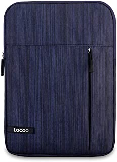 Lacdo Tablet Sleeve Case Compatible 10.2-inch New IPad 2019 |11 inch New iPad Pro 2018 | 10.5 Inch iPad Pro | 9.7 inch New iPad | iPad Air 2 | iPad 4, 3, 2 Protective Bag Water Repellent, Blue