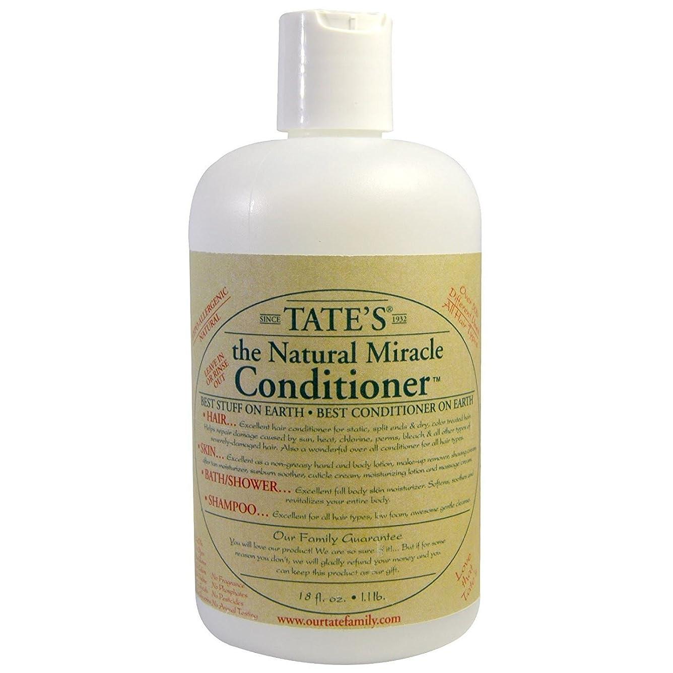 もしエンコミウムスリッパTate's, The Natural Miracle Conditioner, 16 fl oz
