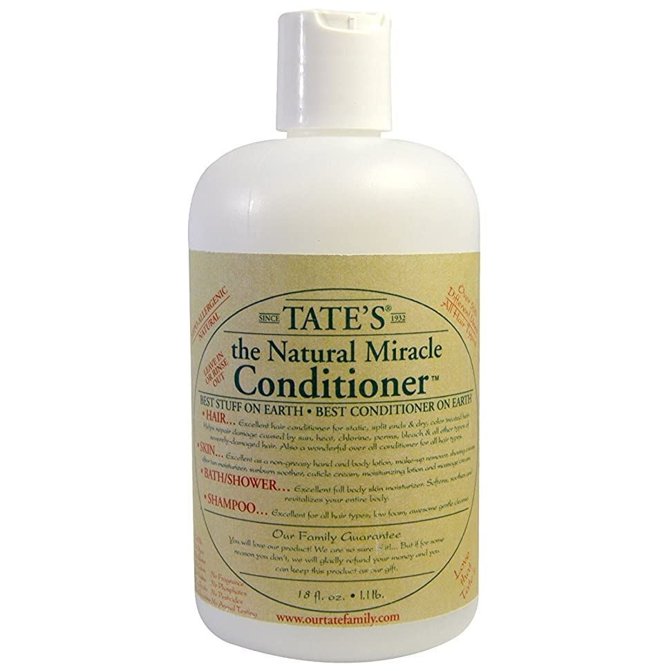 天国れる本物のTate's, The Natural Miracle Conditioner, 16 fl oz