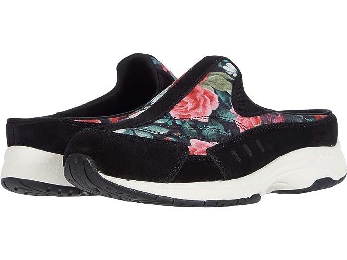 Easy Spirit Traveltime 463 (Black) Women's Shoes