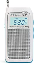 Retekess PR12 Portable Pocket Radio AM FM, Small Personal Radio, Digital AM FM Radio with Headphone Socket and Clear Displ...