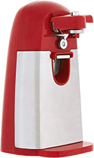 AmazonBasics Electric Can Opener, Red