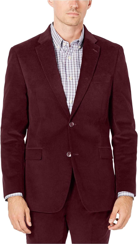 Tommy Hilfiger Mens Corduroy Two Button Blazer Jacket