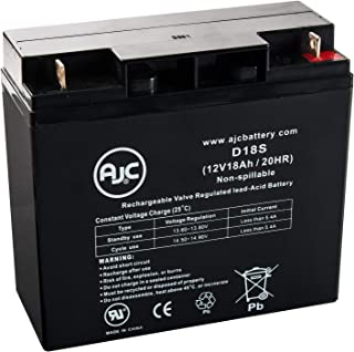 Enduring 6FM17 6-FM-17 12V 18Ah Sealed Lead Acid Battery - This is an AJC Brand Replacement
