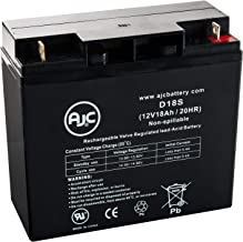 Homelite UT13126 12V 18Ah Lawn and Garden Battery - This is an AJC Brand Replacement