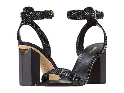 MICHAEL Michael Kors Petra Ankle Strap (Black) Women