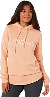 Silent Theory Women's Imprint Hoody Long Sleeve Pink
