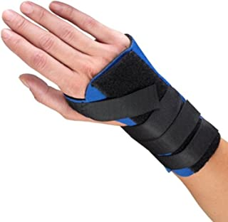 OTC Wrist Splint, Cock-up Style, Neoprene, Black, Small (Right Hand)