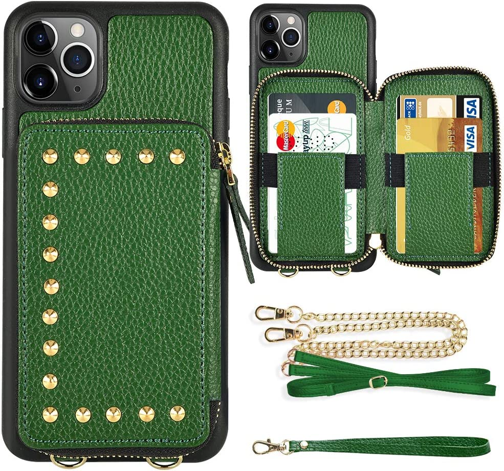 iPhone 11 Pro Max Wallet ZVE Credit Brand new Case 87% OFF Card