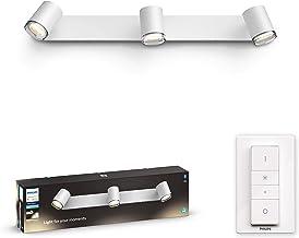 Philips Hue Adore badkameropbouwspot 3-Lichts - IP44 - Duurzame LED Verlichting - Warm tot Koelwit Licht - Incl. dimmer sw...