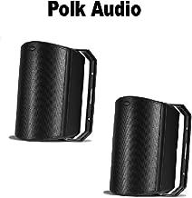 Polk Audio Atrium 8 SDI Speaker (Single, Black) (1 Pair) Bundle