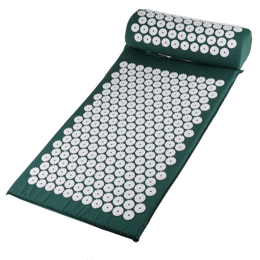 kowaku Acupressure Acupuncture Mat and Set Pain Pillow Courier shipping free shipping - Max 81% OFF Stress