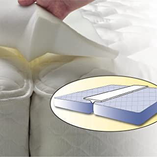 Foamily Foam Bed Bridge Pad - Transform Two Twin Mattress Beds into a King Size Bed