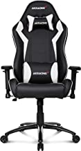 AKRacing Core Series SX Gaming Chair with High Backrest, Recliner, Swivel, Tilt, Rocker and Seat Height Adjustment Mechani...