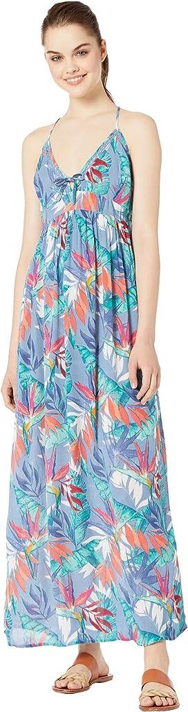 43fce499948 Roxy Hot Summer Lands Strappy Button Through Maxi Dress at Zappos.com