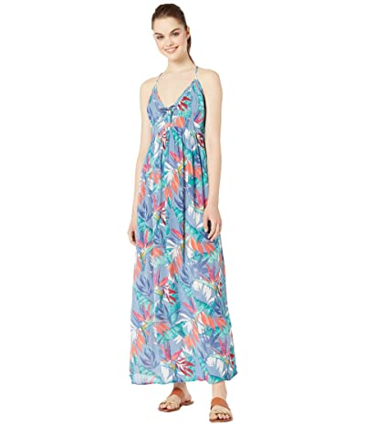 Rip Curl Sea Breeze Maxi Dress (Blue) Women