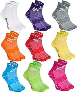 Rainbow Socks - Hombre Mujer Calcetines Deporte Colores de
