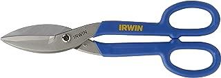 IRWIN Tools Tinner's Snip, Flat Blade, 10-inch (22010)