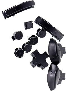 مجموعة أزرار ديل4GO مع A B X Y، D-Pad، المنزل، كابتشر L R ZR ZL Triggers استبدال لنينتندو سويتش لايت البلاستيك (أسود)