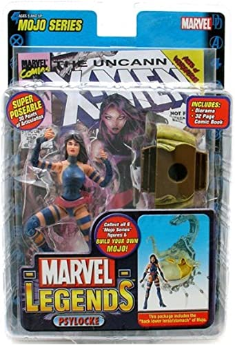 Marvel Legends Mojo Series 14 Psylocke Action Figure by Marvel