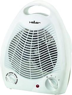 Heller HL 706 Calentador de ventilador Gris 2000 W - Calefactor (Calentador de ventilador, Piso, Gris, 2000 W, 1000 W)