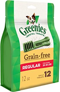 Greenies Grain Free Dental Treats for Regular Dog 340 g, 12 oz