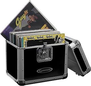 "$69 » Odyssey KLP2-Black 70 12"" Lp Vinyl Records Stacking Utility Krom Transport Case"