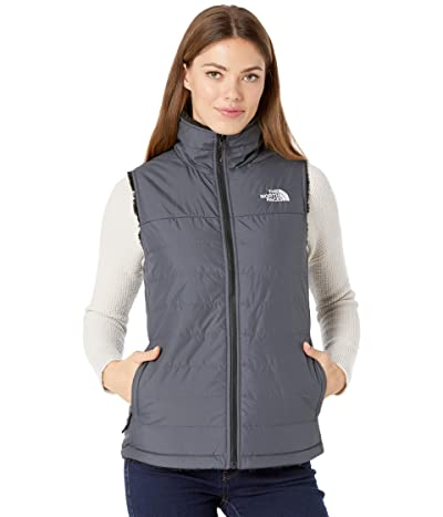 The North Face Mossbud Insulated Reversible Vest (Vanadis Grey/TNF Black) Women