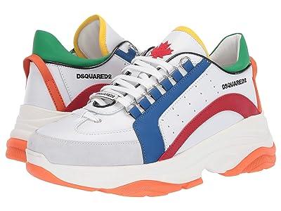 DSQUARED2 Oversized 551 Sneaker (White/Red) Men