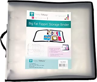 ScrapRack Big Fat Flippin Storage Binder for Scrapbook Pages and Supplies by Totally-Tiffany