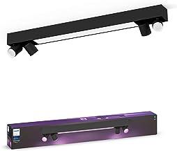 Philips Hue Centris opbouwspot 4-Lichts - Duurzame LED Verlichting - Wit en Gekleurd Licht - Dimbaar - Verbind met Bluetoo...
