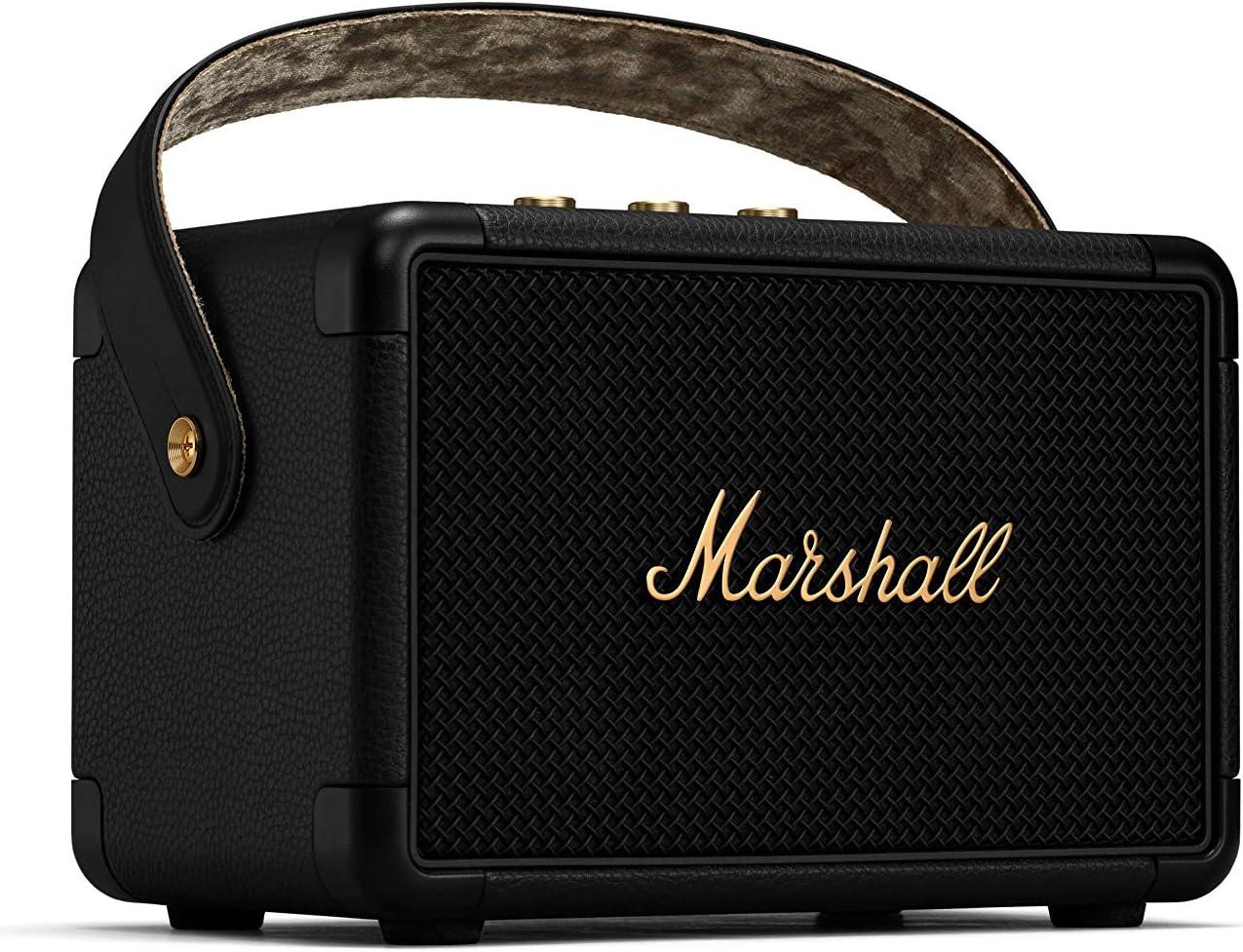 Marshall Kilburn II Altavoz portátil con Bluetooth - Negro y latón