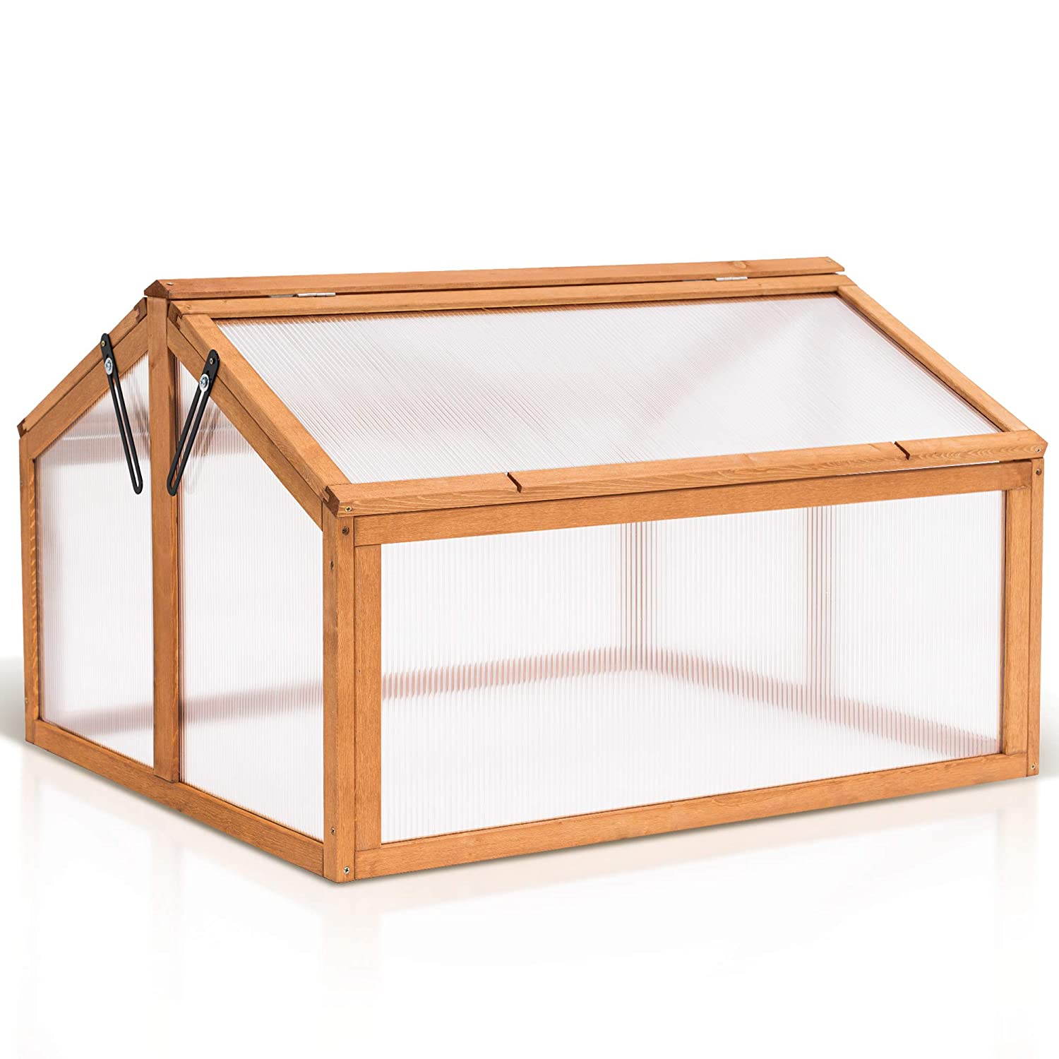 MCombo Double Box Wooden Greenhouse Ranking TOP8 Bed Frame trend rank Cold Plants Raised