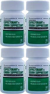 Mucus DM Expectorant Cough Suppressant 240 Caplets Generic Mucinex DM Cough