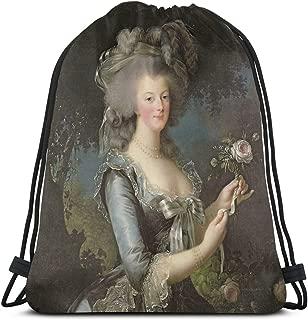 Ady Elisabeth Louise Vigee - Lebrun - Marie Antoinette 1755 Drawstring Bags Gym Bag