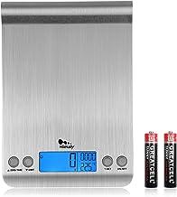 himaly 5kg/11lb Balance Cuisine,Balance de Précision chronométrage,Fonction Tare,Balance Alimentaire en Acier Inoxydable,T...