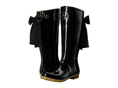 Joules Evedon Tall Boot (Black Rubber) Women