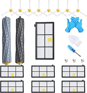 JoyBros 17-Pack Replacment Parts for iRobot Roomba 800&900 Series:880 890 960 980 Vacuum Cleaner Accessories Kit