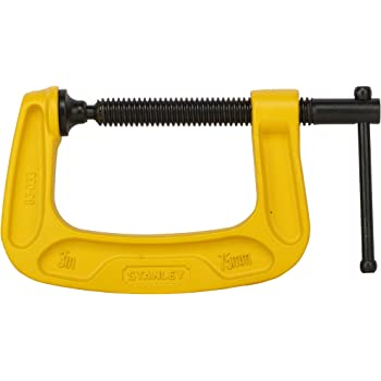 STANLEY 0-83-033 Max Steel C-Clamp-75mm
